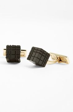 Burberry Check Cube Cuff Links available at #Nordstrom