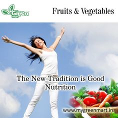 The New Tradition is Good Nutrition