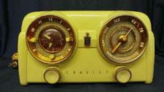 icollect247.com Online Vintage Antiques and Collectables - Vintage Crosley D-25 WE Tube Radio Music Radio