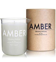 Laboratory Perfumes - Amber Candle