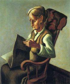 Portrait of Frankie  1923  Thomas Hart Benton