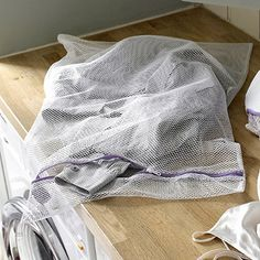 2 Large Wash Bags - From Lakeland > for in the nappy bucket (v glamorous)