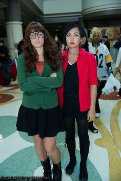 Daria Morgendorffer and Jane Lane, MegaCon 2013 - Friday - Cosplay Photos from David DTJAAAAM Ngo