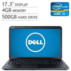 Costco: Dell Inspiron 17 Laptop Intel® Core™ i3-3227U 1.9GHz