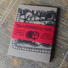 The Wayfarer's Year - Perpetual Calendar & Wall Frieze