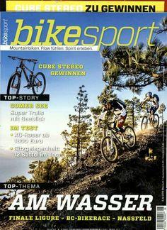 Top-Thema - Am Wasser. Gefunden in: bike sport, Nr. 6/2015