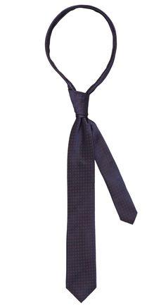 Tie dark blue/orange pattern. Shop here: http://www.vangils.eu/en/ties