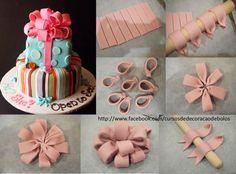decorar bolos com pasta americana - Pesquisa do Google