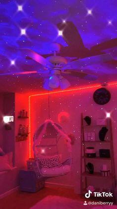 bedroom tiktok neon teen teens decoration inspiration desefay