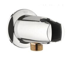 Grohe Movario Wall Union with Hand Shower Holder Finish: Brushed Nickel