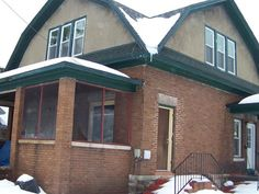 Older home with alot of personality.  Nice woodwork with old charm.  Used to be a duplex and could easily be that again.  Brick exterior 1 car detached garage corner lot.  Selling AS IS HANDYMAN SPECIAL