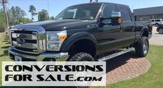 2014 Ford Super Duty F-250 Diesel 4WD Lifted Truck