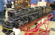 scale model steam train