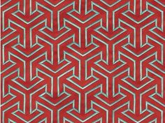 Cotton fabric with graphic pattern for curtains WHY - Dedar