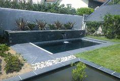 Moderner Garten, Garten, Gartengestaltung, Wasser, Pool, Teich,  Wasserspiel, Modern