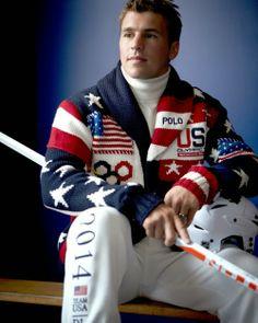 Zach Parise The Captain of the USA Olympic Men's Ice Hockey Team