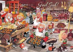 Christmas postcard (Sweden) | Secret Christmas Card RR from … | Flickr