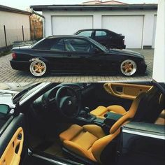 BMW E36 3 series cabrio black