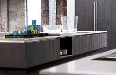 6021 GL | Silbereiche Furnier - Häcker Küchen - Häcker Küchen