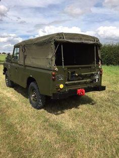 Land Rover® Series 2a 109 *Ex Military*(XEY) - John Brown 4x4