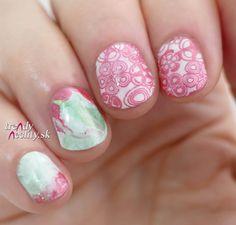 Short nails, Nail Art