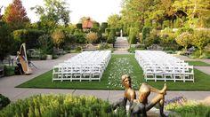 Ceremony & Reception Space - Dallas Arboretum