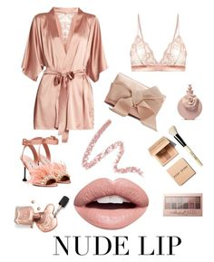 """""""In the Nude..."""" by meganbjorkpowell on Polyvore featuring beauty, Fleur of England, Nevermind, Maybelline, Oscar de la Renta, Miu Miu, Bobbi Brown Cosmetics and Valentino"""