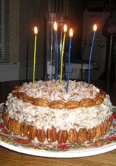 Sugar & Spice by Celeste: Fresh Orange Italian Cream Cake - Southern Living