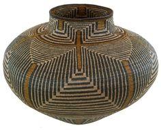 Hösig Di |Cultural Geometric Basket