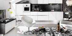 New Modern Kitchen Japanese Style With White Cabinet And Washbasin, best japanese kitchen knives, japanese kitchen knife ~ Home Design White Kitchen Furniture, White Kitchen Cabinets, Kitchen Decor, Kitchen Ideas, Kitchen White, Gloss Kitchen, Bathroom Furniture, Modern Kitchen Design, Interior Design Kitchen