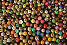 art inspir, colour, sprays, colors, graffiti, spray paint, buttons, paints, beauty