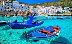 Levanzo. Sicily Italia