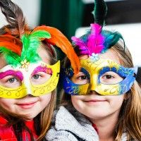 How to throw an amazing Masquerade Ball party for kids!