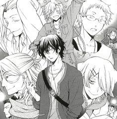Pandora Hearts college dating sim au. Xerxes Break, Jack Vessalius, Manga Art, Manga Anime, Anime Boys, Pandora Hearts Gilbert, Manga Box Sets, Heart Art, Book Art