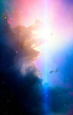 Space art, nebula, universe, stars,