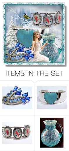 Ice Princess by pattysporcelainetc on Polyvore featuring art, vintage and country