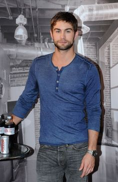 Chace Crawford Promotes Diet Coke
