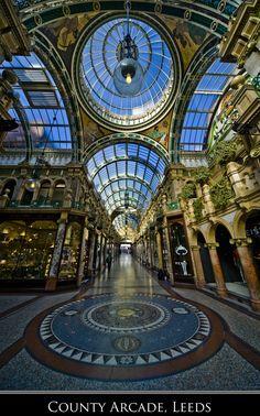 County Arcade, Leeds, UK