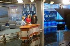 The Epic Voyage Tour is offering visitors a sneak peak of Antarctica: Empire of the Penguin. Here, Pete and Penny Penguin visit Eye Witness News 3 in Philadelphia, Pennsylvania.