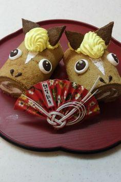 year of horse 干支☆お馬さんケーキ