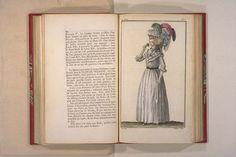 robe en chemise de mousseline (muslin chemise dress) - 1786 Cabinet des Modes
