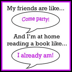 Nothing beats a reading party!