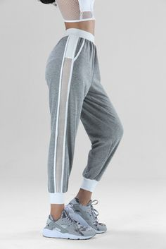 The Tracker Pants - Classic tracksuit from our athleisure bestsellers! Sequin Leggings, Women's Leggings, Fall Outfits, Summer Outfits, Mens Sweatpants, Athleisure Outfits, Fashion Sandals, Sport Pants, Ladies Dress Design