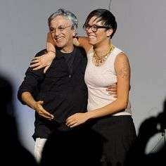 Caetano e Maria!