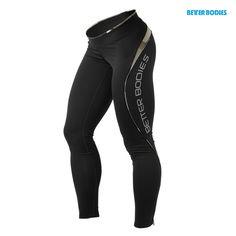 Better Bodies Women's Fitness Long Tights - Black/Camo, Black/Black, Black/Lime, Black/Hot Pink, Black/Purple  $89