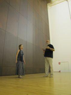 Michal Rovner, en el Centro Cultural San Marcos.