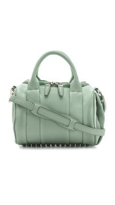 Alexander Wang Rockie Duffel in Peppermint. Ohhhh please get into my closet!