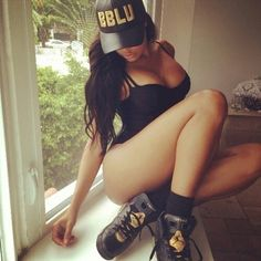 Bad girl with swag