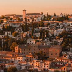Sunset in Granada by Anton Tkachenko on 500px