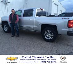 #HappyBirthday to Kyle Gaston from Neal Carpenter at Central Chevrolet Cadillac!